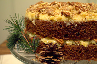 The Best German Chocolate Cake from Behind the Blonde