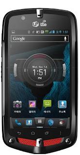 Nec Casio G'zOne CA201 L CDMA WCDMA LTE Specs pics