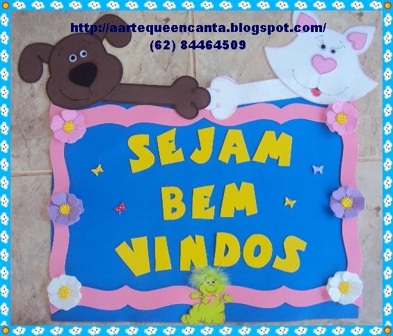 decoracao sala de leitura na escola:ARTE QUE ENCANTA: DECORAÇÃO PARA SALA DE AULA EVA