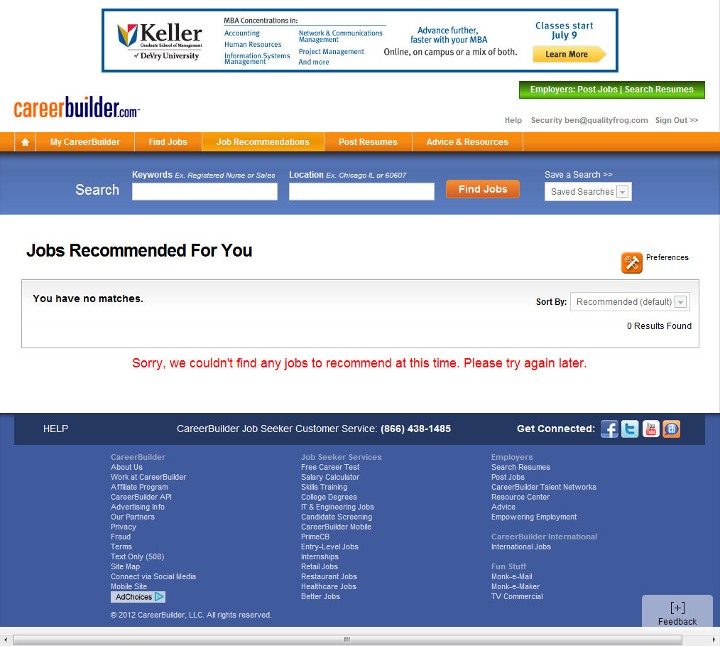 careerbuilder resume search login 28 images career email posting resume search service site