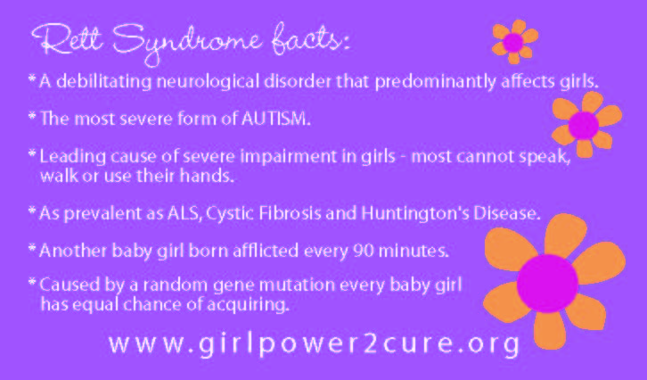 making our way through rett syndrome caroline s purple card from
