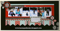January Play Group Scrappin' Class Layouts (Snowhaven)