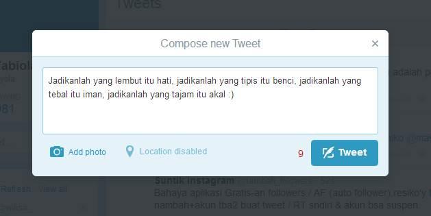 Cara Menggunakan Twitter gambar 2