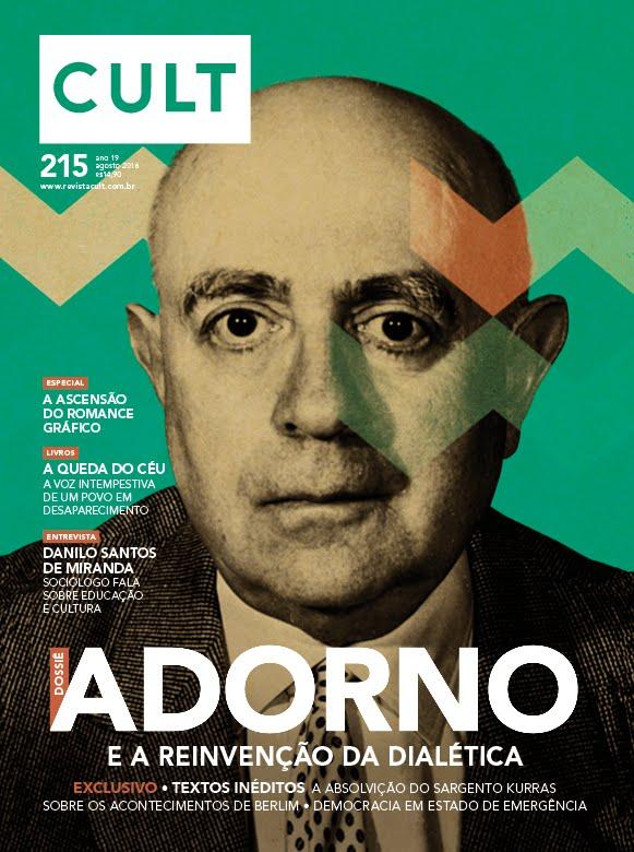 Revista Cult - Edição de Agosto de 2016