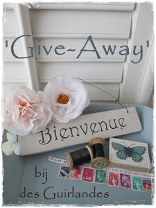 Give-Away bij Barry van Des Guirlandes