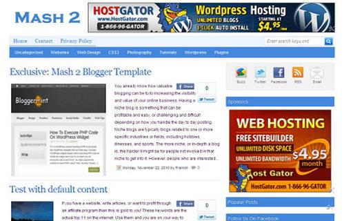 Top 10 Responsive 2016 Blogger Template Free Download Lveask Liveask Word Trending
