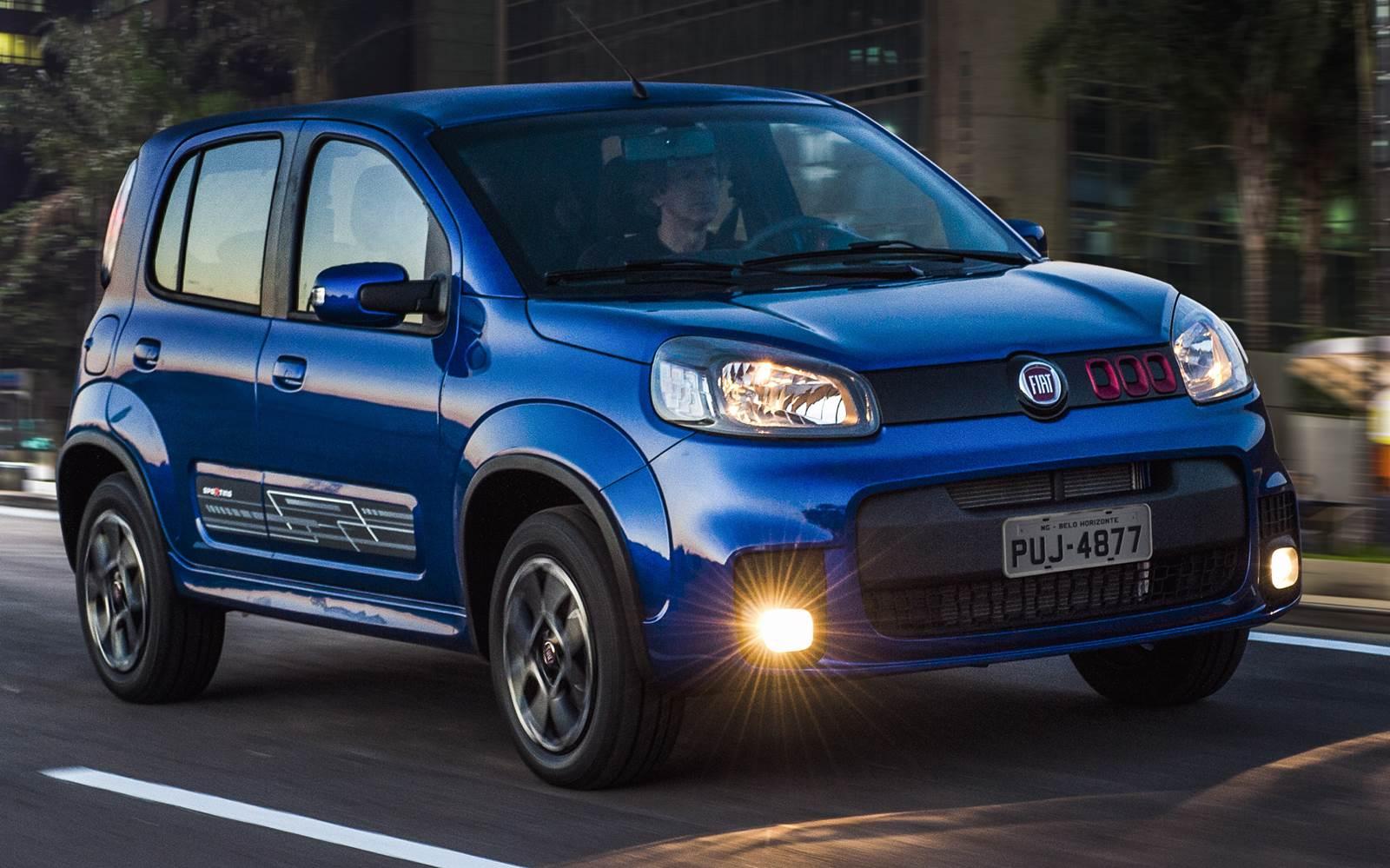 Fiat Uno - 4º carro mais vendido em agosto de 2015