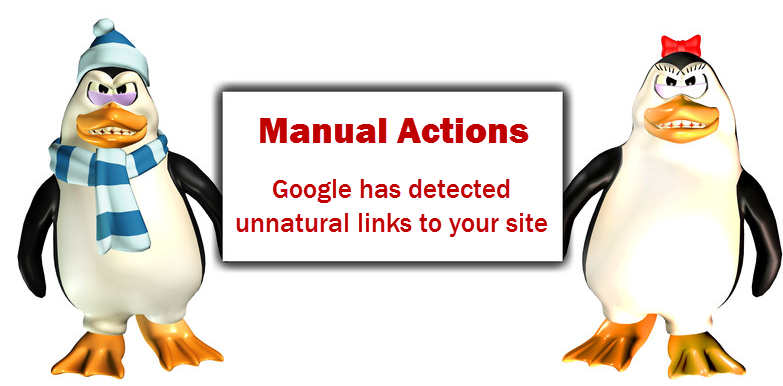 Google Manual Search Penalty