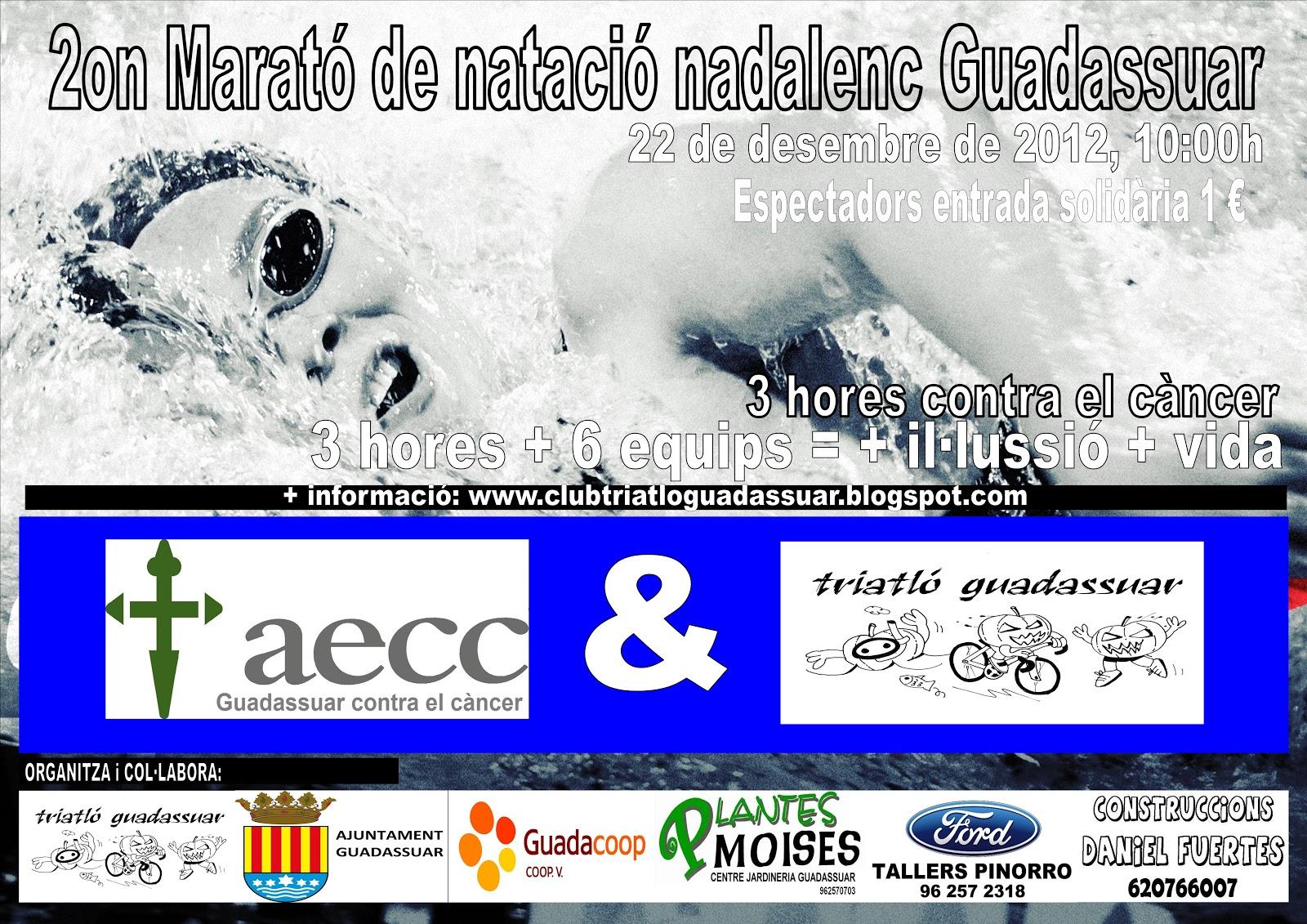 Club triatl guadassuar ii marat nataci nadalenc - Piscina coberta algemesi ...