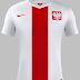 Nike divulga novas camisas da seleção de Polônia