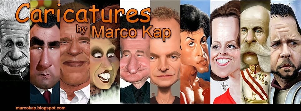 Caricatures by Marco Kap