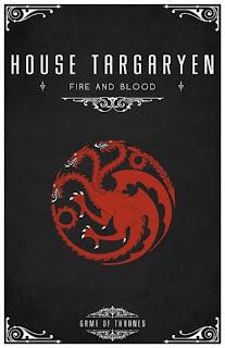 emblema casa Targaryen - Juego de Tronos en los siete reinos