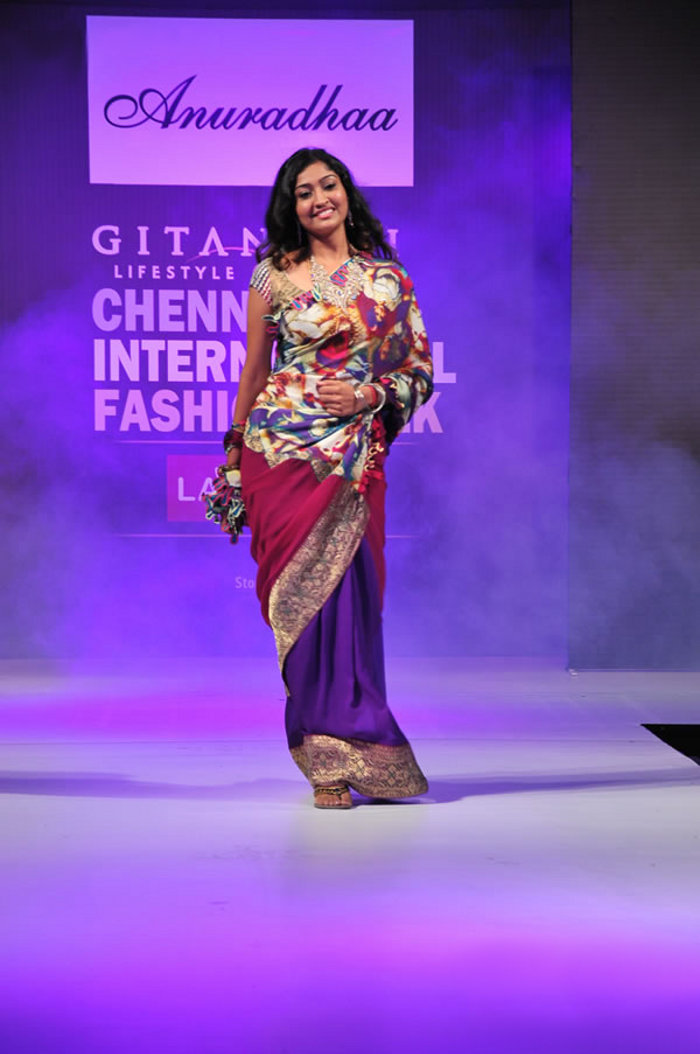 Tamil Actress Neelima Rani Pictures on ramp