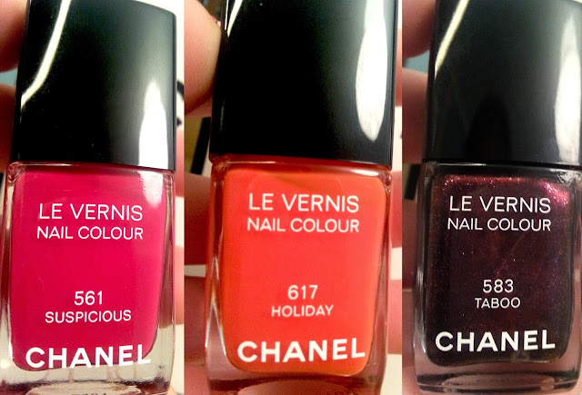 Chanel Le Vernis Nail Colour Suspicious Holiday Taboo Swatch Review