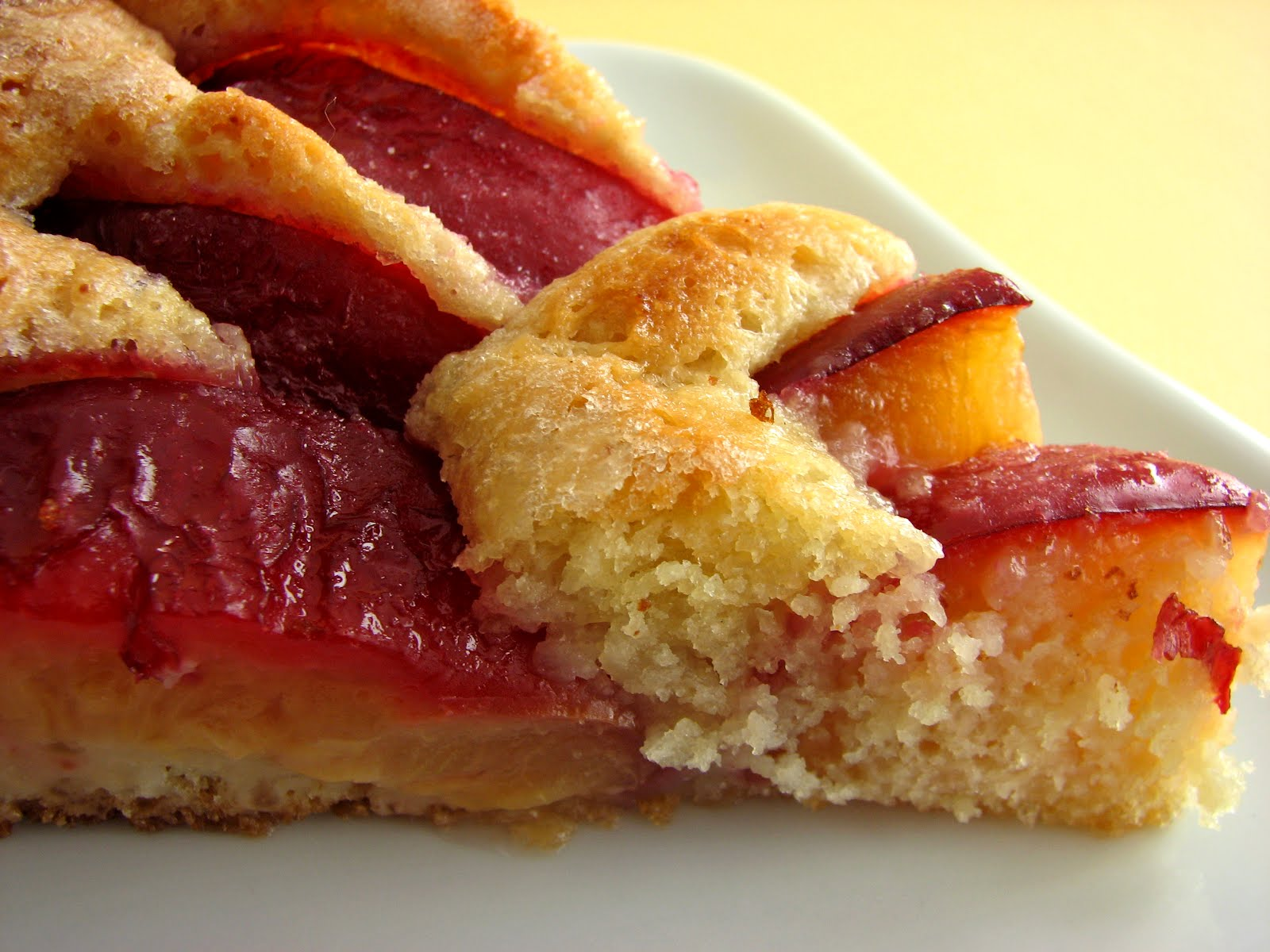 Yeasted Plum Tart Recipe — Dishmaps