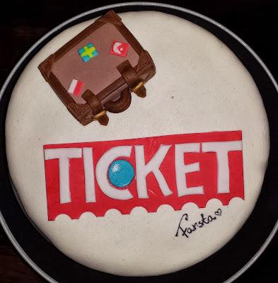 Ticket tårta