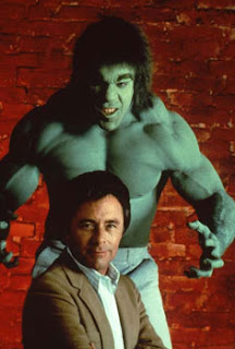 O Incrível Hulk - Bill Bixby e Lou Ferrigno