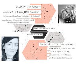 #SUMMERCROP       les 24 et 25 juin 2017