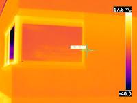 Infrarood opnames passiefhuis