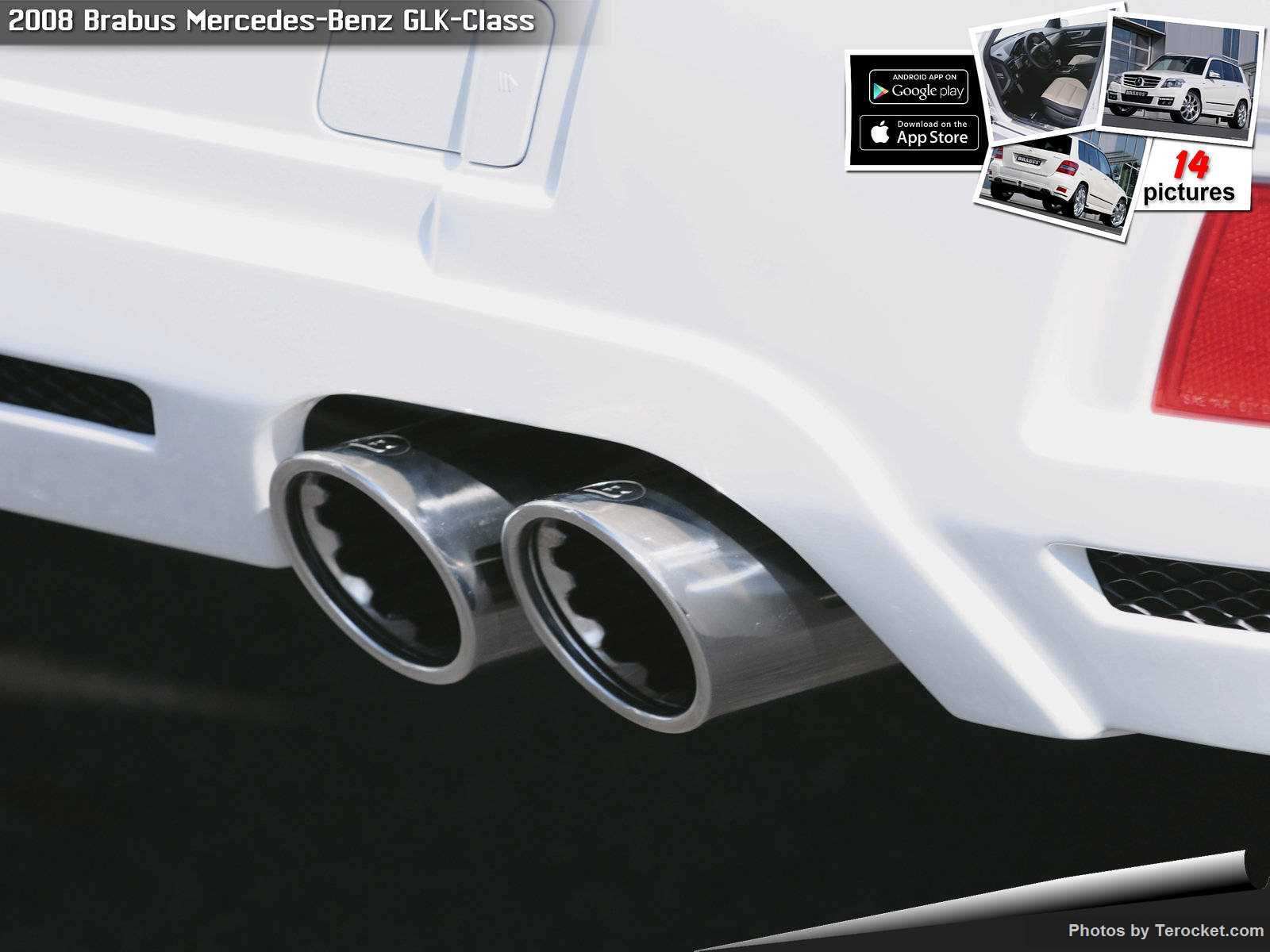 Hình ảnh xe ô tô Brabus Mercedes-Benz GLK-Class 2008 & nội ngoại thất