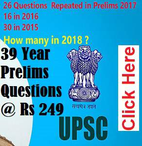 How Many Questions Will Be repeated in Prelims 2018 ?