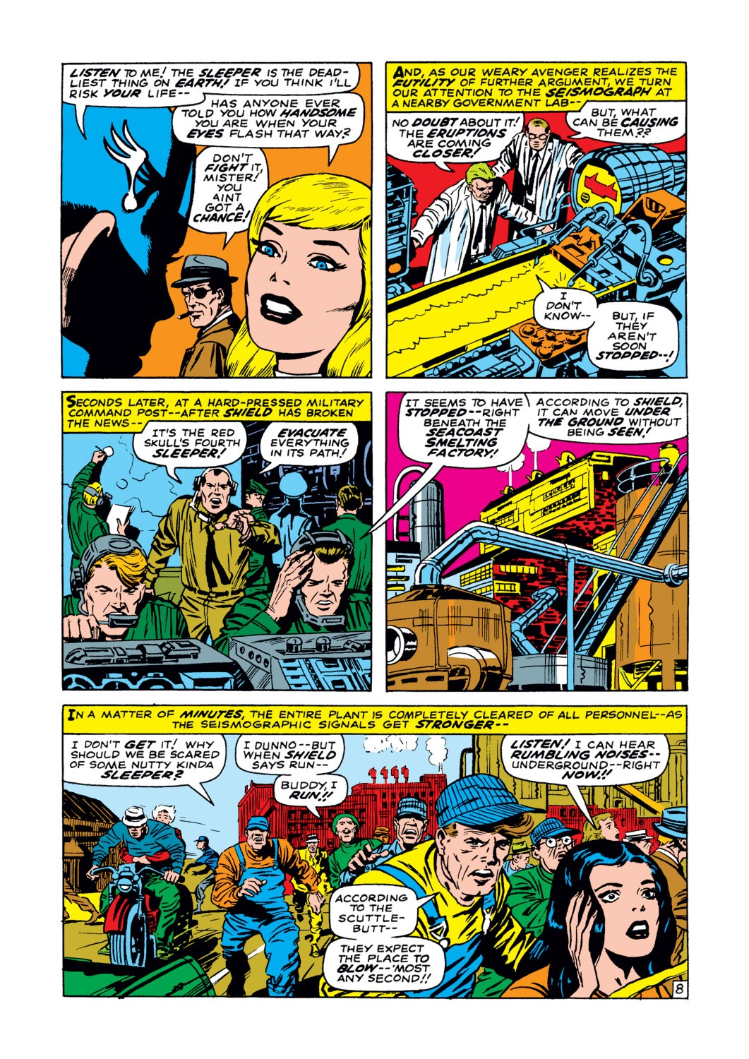 Captain America (1968) Issue #102 #16 - English 9