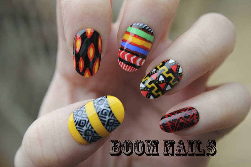 Boom nails african inspired african inspired prinsesfo Images