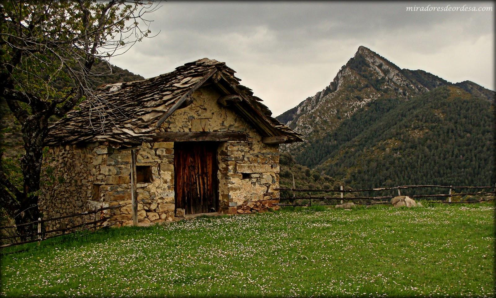 Bordas del pirineo paisajes de ordesa - Casas del pirineo ...