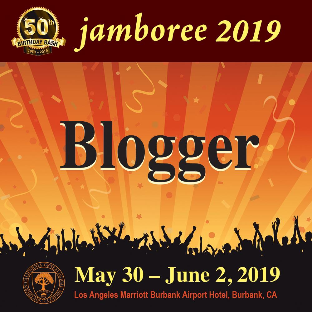 Proud Blogger at Jamboree 2019