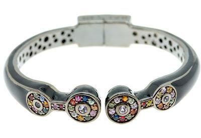 Gem Stones Bangle Bracelet