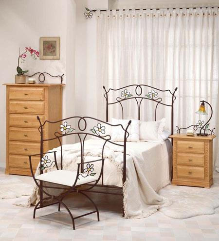 La web de la decoracion y el mueble en la red camas forja - Cabeceros de hierro forjado ...