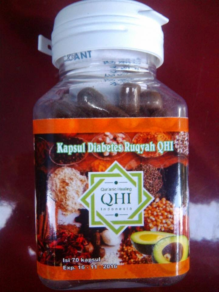 KAPSUL DIABETES RUQYAH QHI