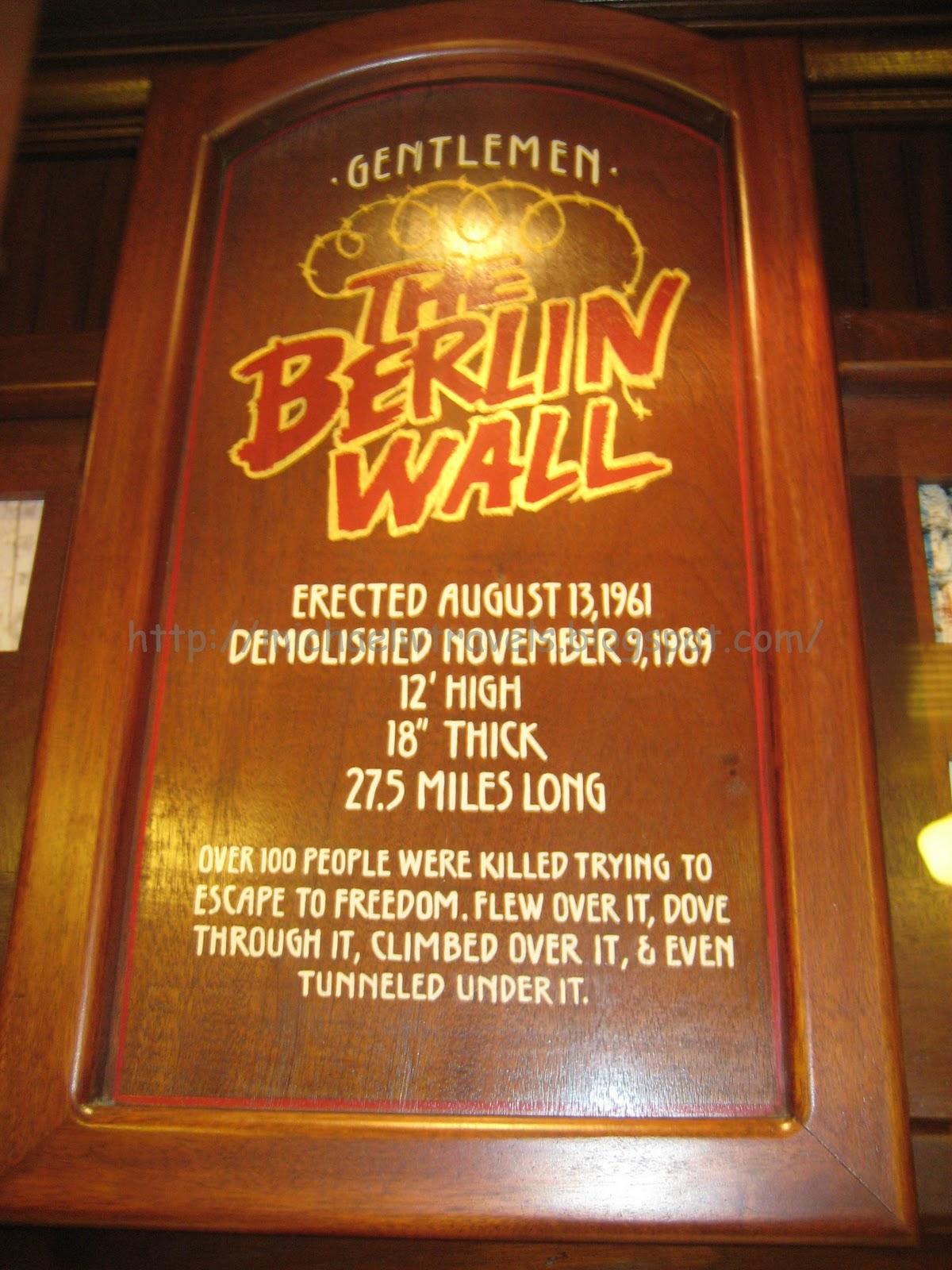 Visiting The Berlin Wall Las Vegas Nevada Michael W