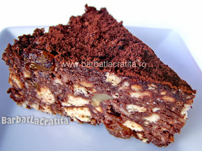 Tort de biscuiti reteta