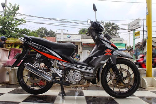 gambar modifikasi suzuki shogun sp