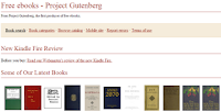 1. Gutenberg Project - 5 ways to get free eBooks in minutes