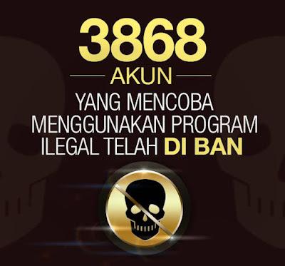 Hack / Cheat PB Garena Indonesia Terbaru