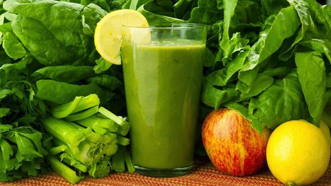 Jugos verdes para limpiar el organismo
