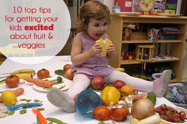 mangetout640x476+copy - 10 top tips to help get your children excited about eating fruit & vege's