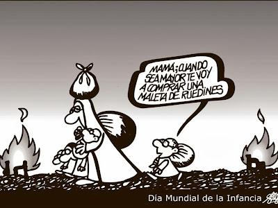 ¡Ay, la INFANCIA EN EL MUNDO!