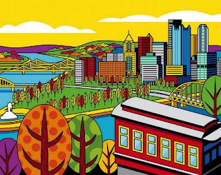 Arte Pop Cuadros con Ciudades