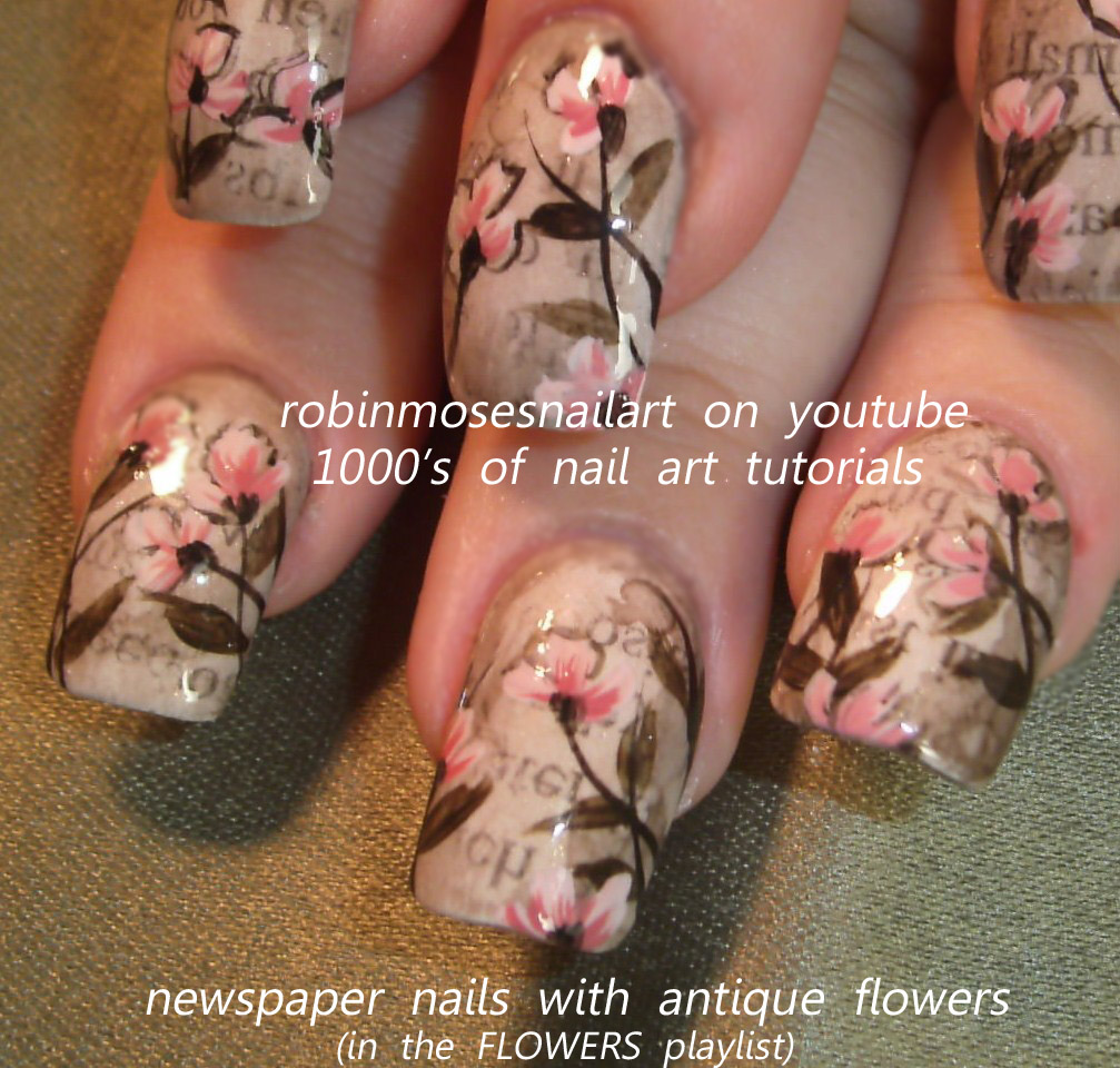Nail art design tribal nails black and gray nails rasta nails tribal nails black and gray nails rasta nails reggae nails easy nails ufc nails newspaper nails vintage newspaper nails newspaper nails with flowers prinsesfo Images