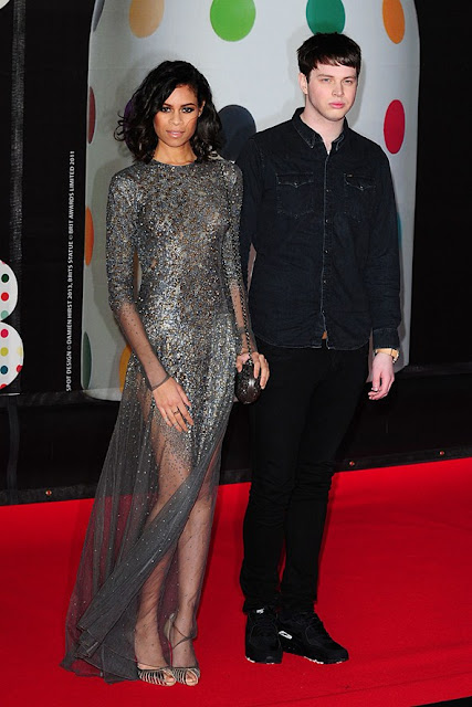 Aluna Francis Brit Awards 2013 outfit
