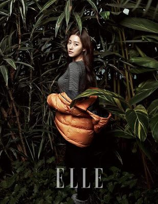 Jeon Hye Bin Elle Magazine December 2012 Beautiful Sexy