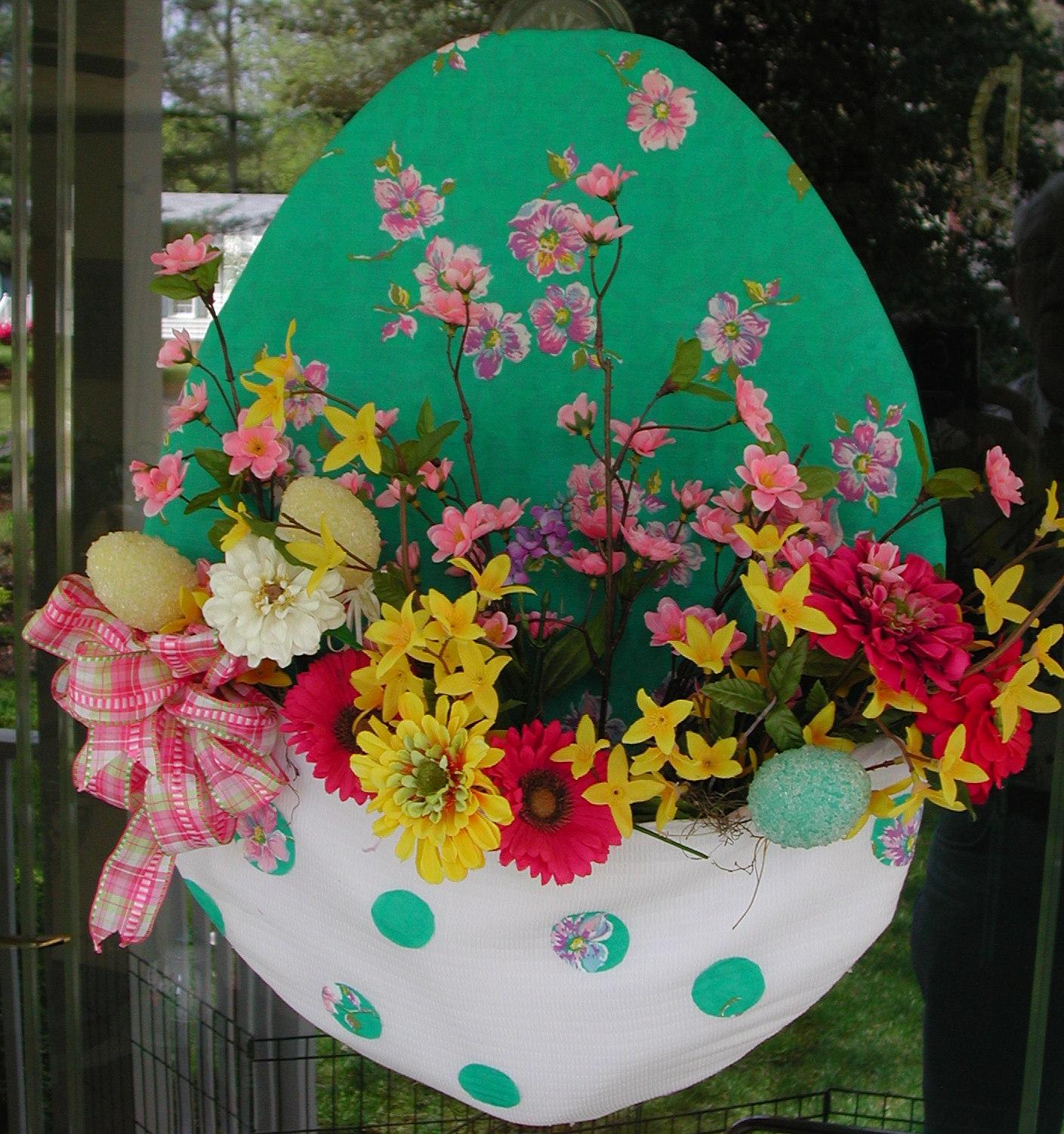 Corgis In My Garden Easter Door Decoration And More