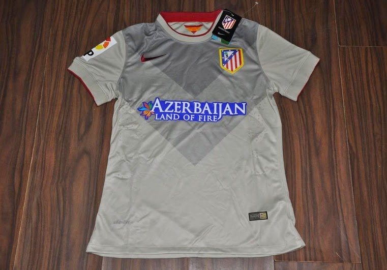Thailand Quality Atletico Madrid 1415 Away Soccer Jersey (Player Version)