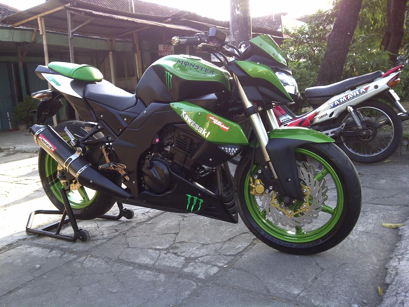 Kawasaki Ninja 250 Konsep Kawasaki Z1000 title=