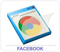 facebook google frame