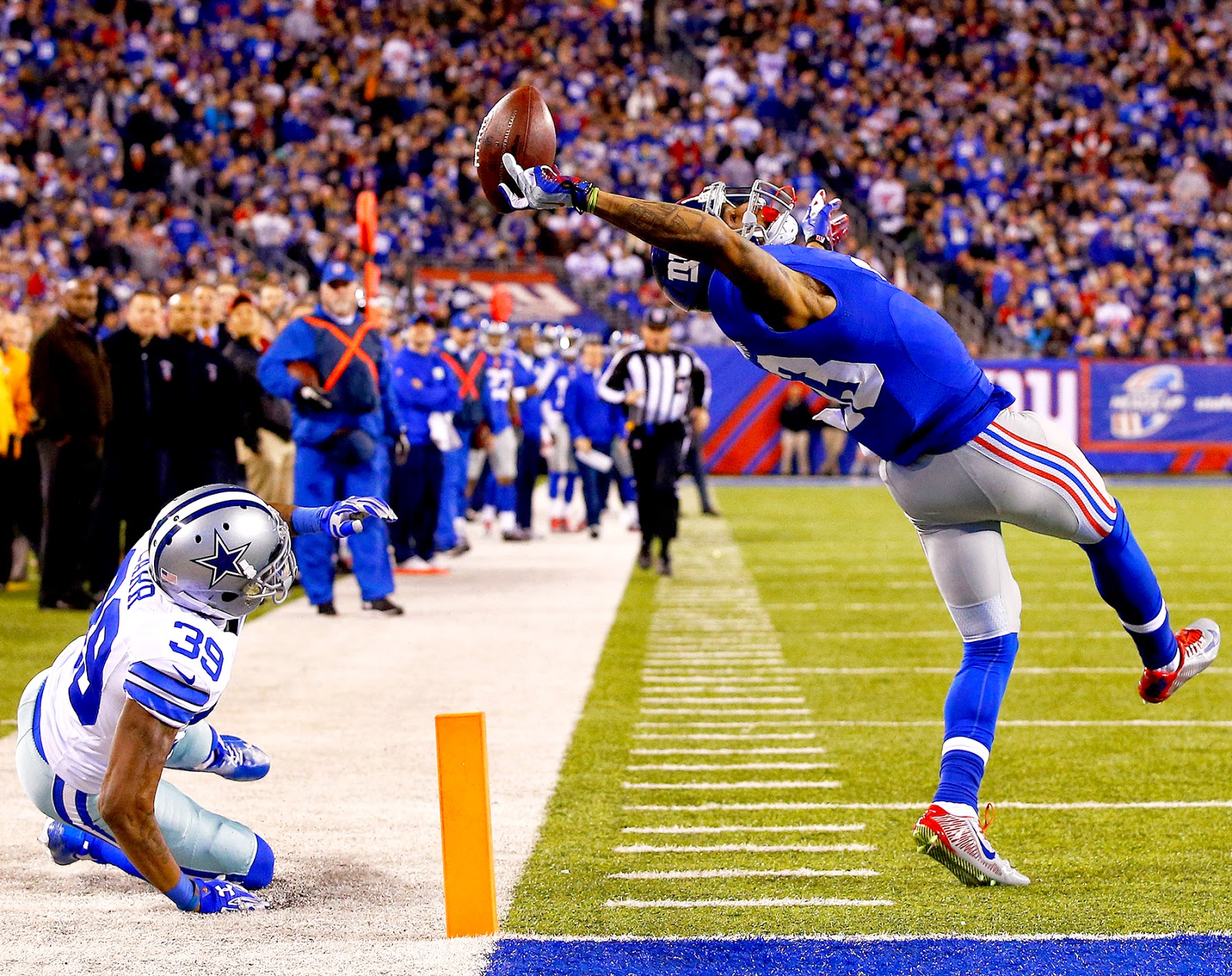 Odell Beckham Jr. reveals he played with muscle tears during season ...