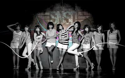 Cute Beautiful Asian Girls - SNSD Wallpaper
